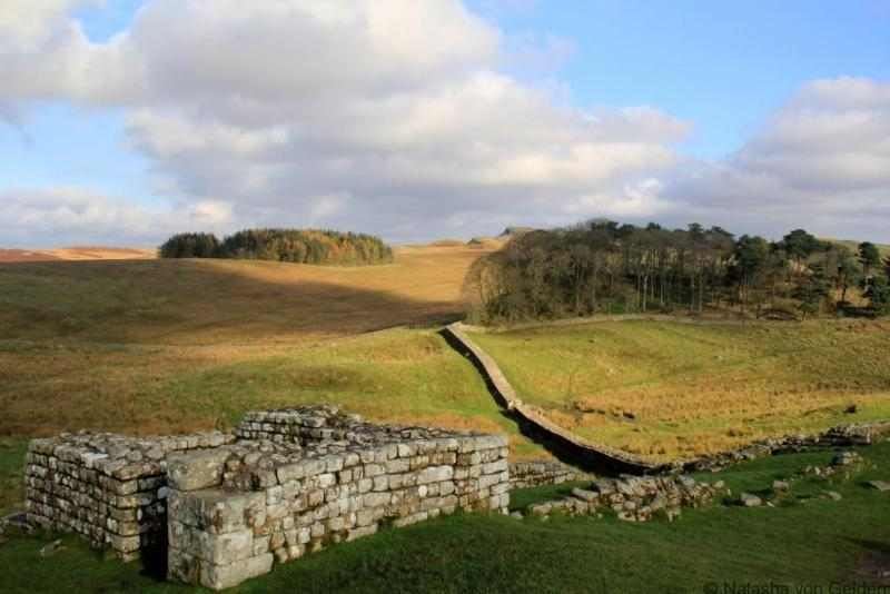 Housesteads Roman Fort Hadrians Wall
