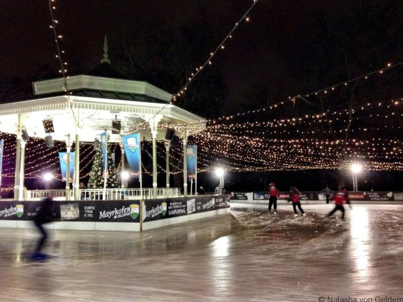 Hyde Park Winter Wonderland skating London