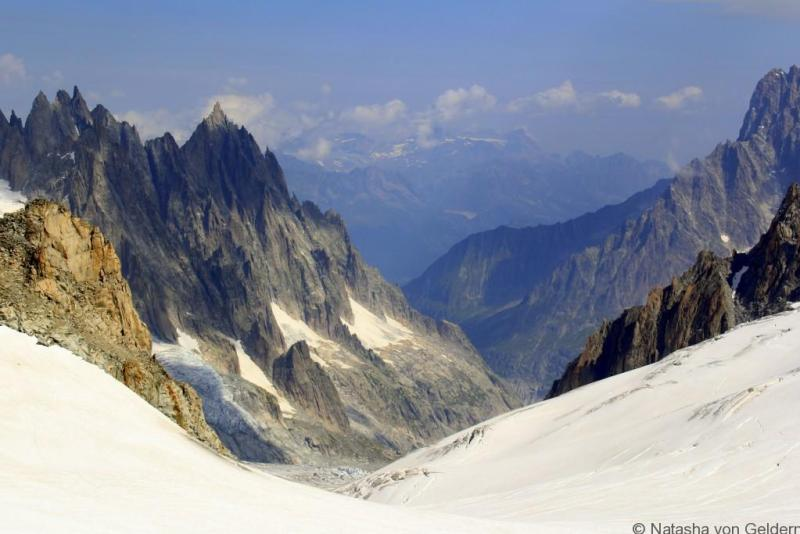 Skyway Monte Bianco views Italy