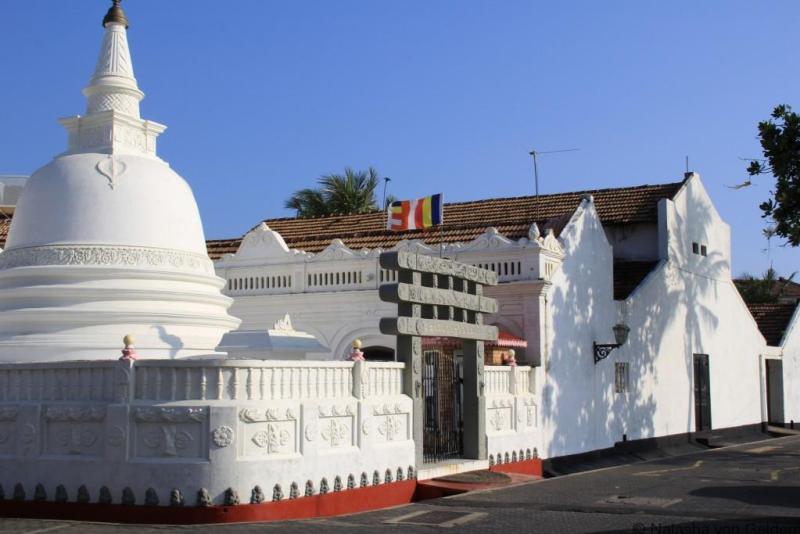 Buddhist Temple Galle Sri Lanka