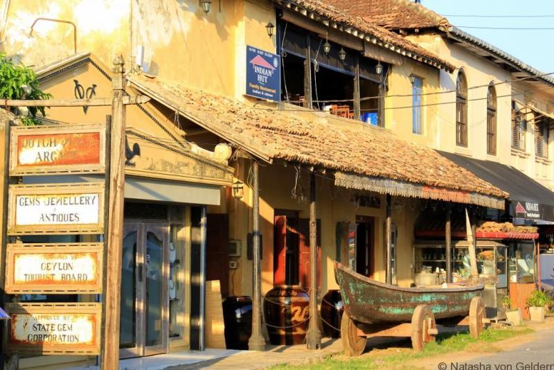 Galle Fort shopping, Sri Lanka