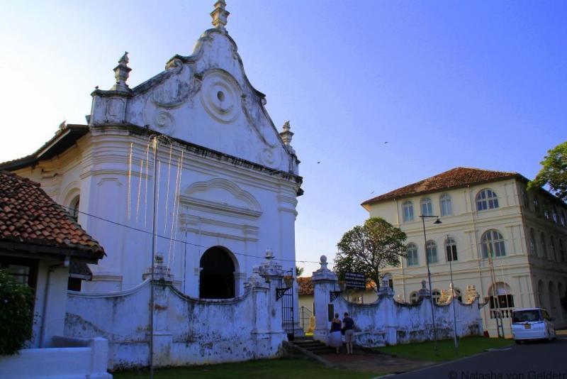 The Groote Kerk, Galle Sri Lanka