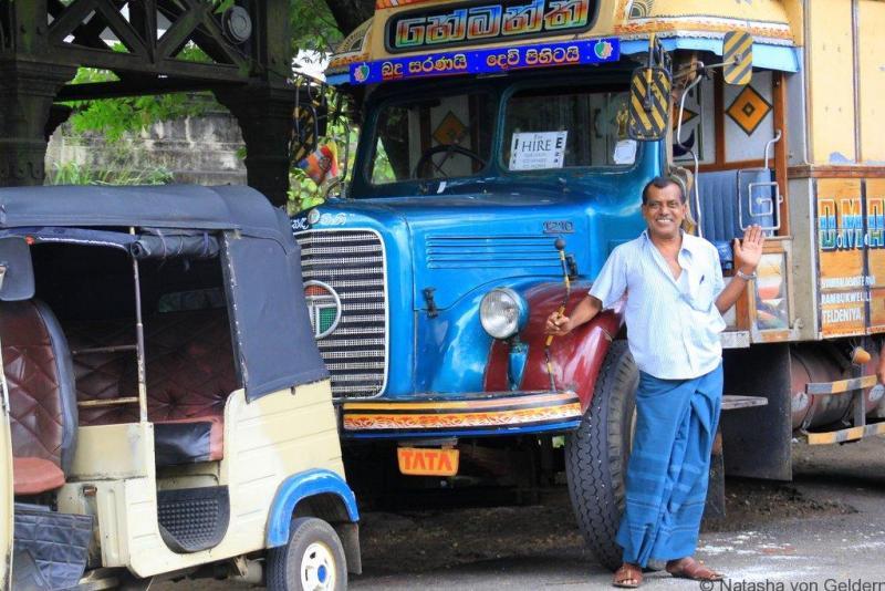 Drivers of Kandy Sri Lanka