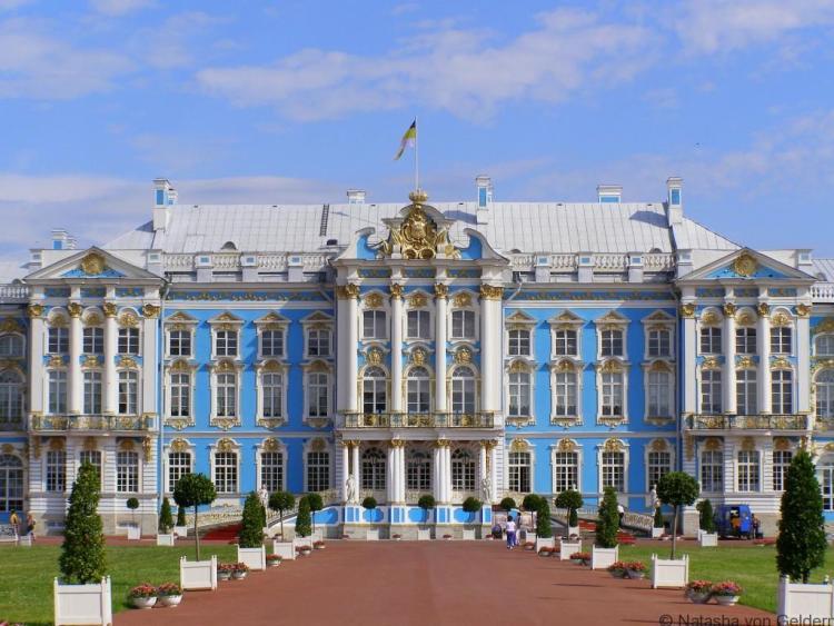 The Catherine Palace, Russia, Photo by Natasha von Geldern