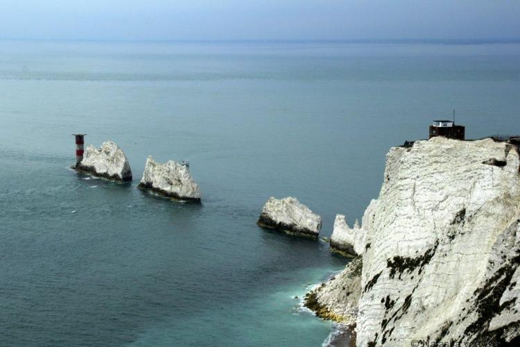 The Needles rock stacks, Isle of Wight