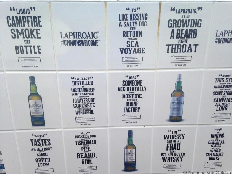 Laphroaig Islay whisky distillery opinions Scotland