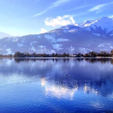 Zell am See views Austria