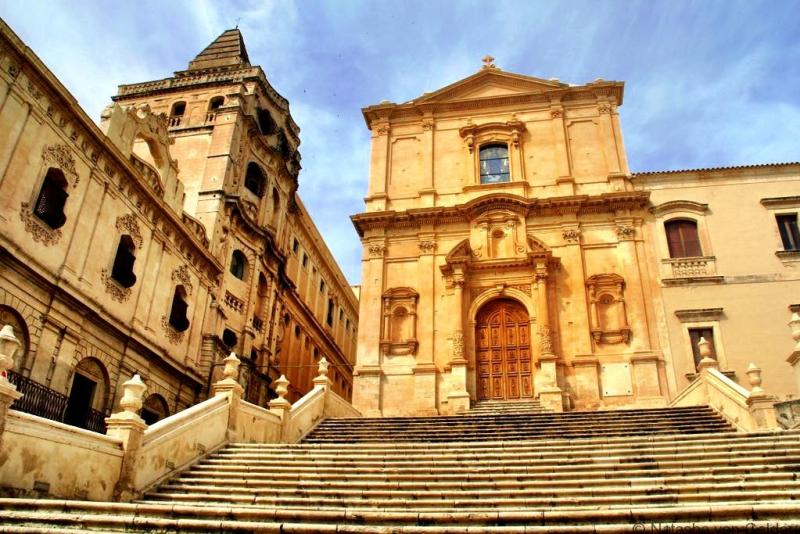 Noto baroque architecture Sicily