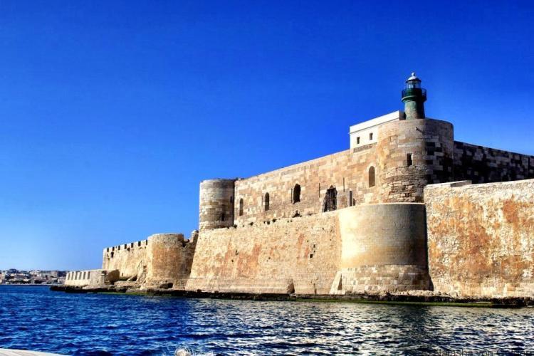 Ortygia fortress Sicily
