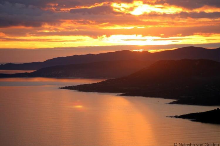 Corsica sunset