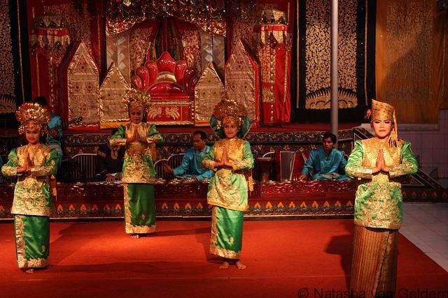 Indonesia classical dance