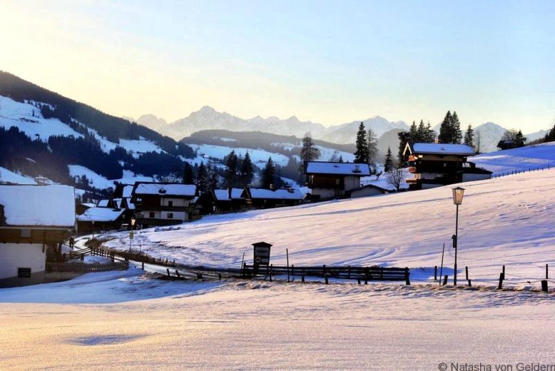 Alpbach village in Tirol Austria