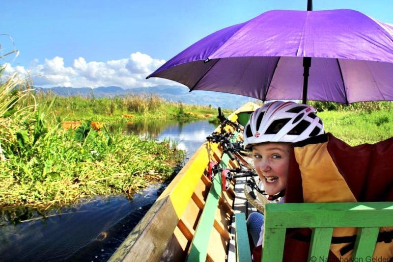 Inle Lake bike boat kayake tour Myanmar