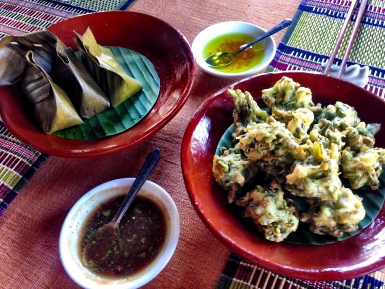 Shan food at Inle Lake Myanmar