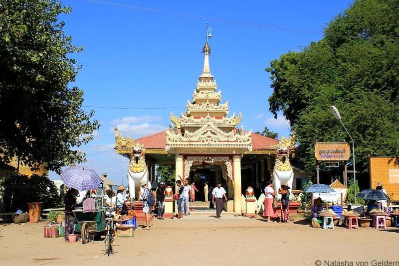 Buphaya Temple Old Bagan Myanmar