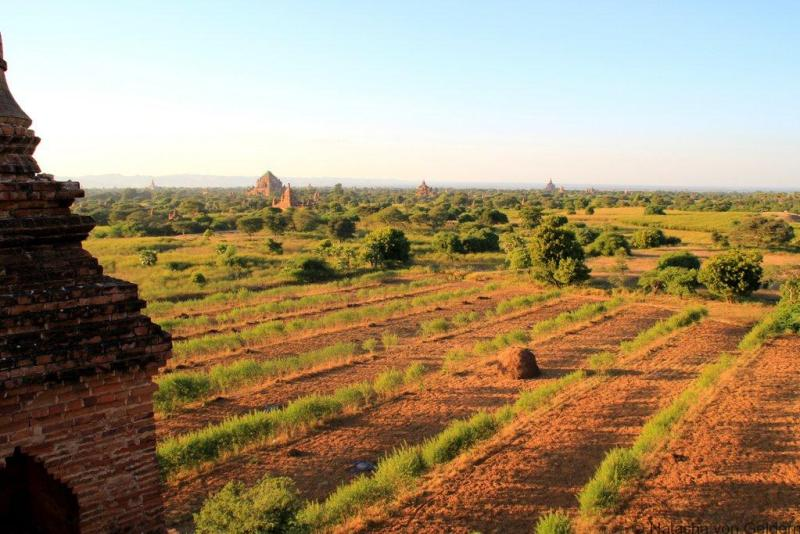 Pyathatgyi temple view Bagan Myanmar