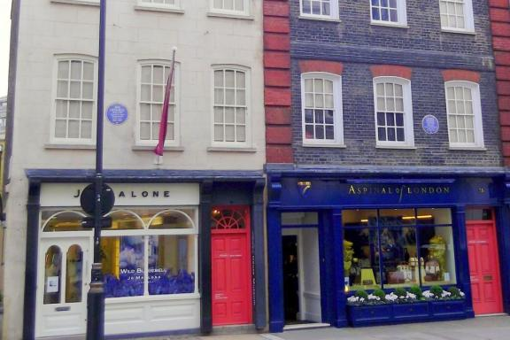 Handel & Hendrix in London 25 Brook Street