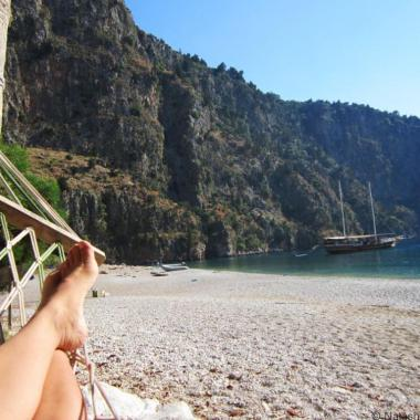 Beach holiday in Turkey