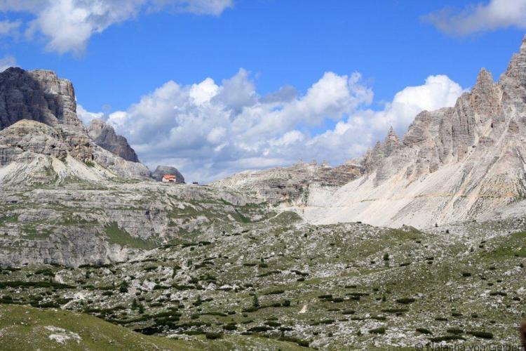 Hiking Dolomites Tre Cime di Lavaredo Italy