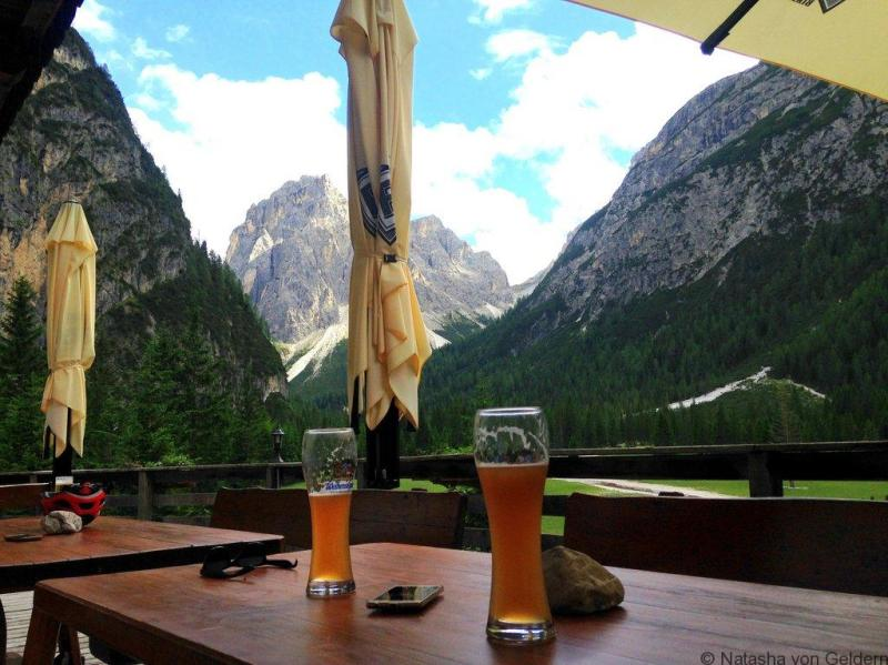 RIfugio Tre Scarperi Dolomite Mountains Italy