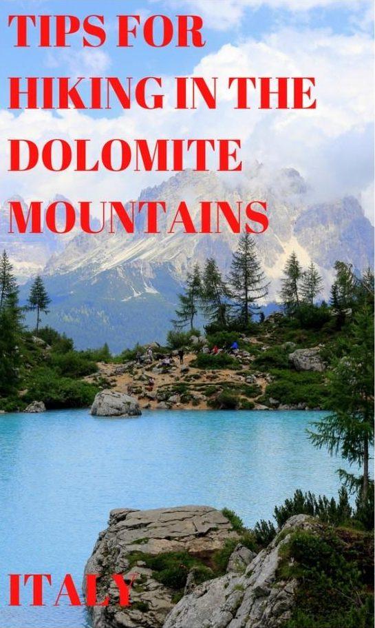 Patarimai žygiams po Dolomito kalnus Italijoje