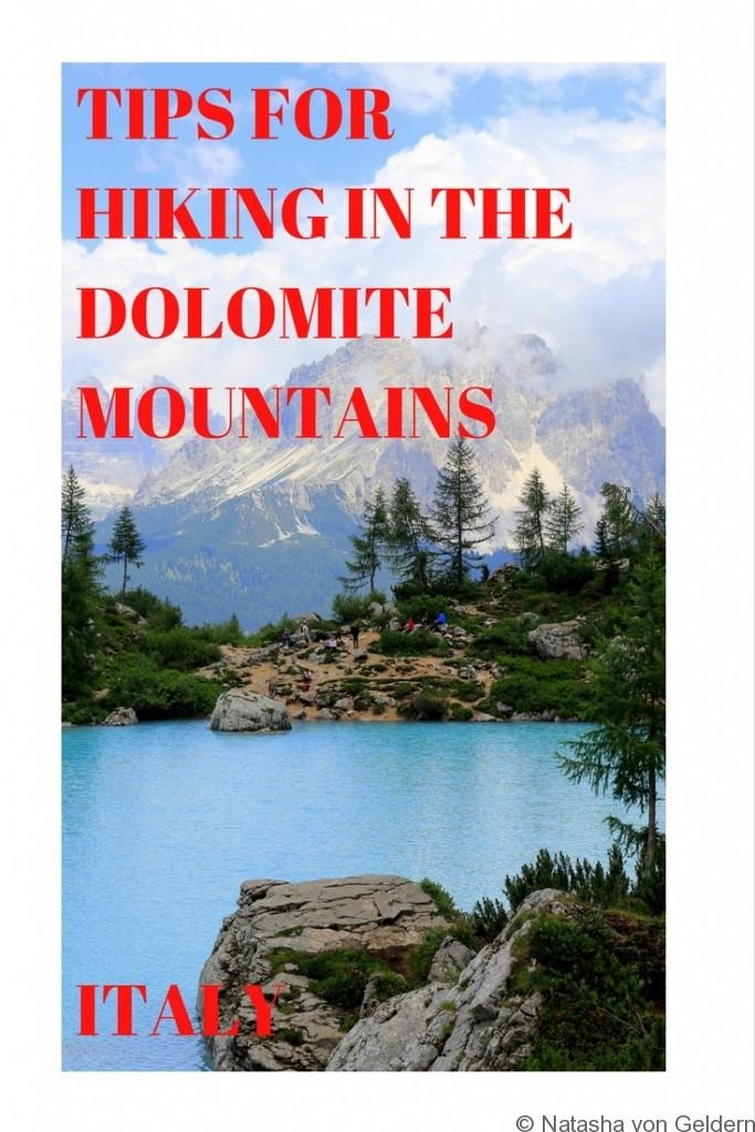 Tips for Hiking in the Dolomite Mountains Italy