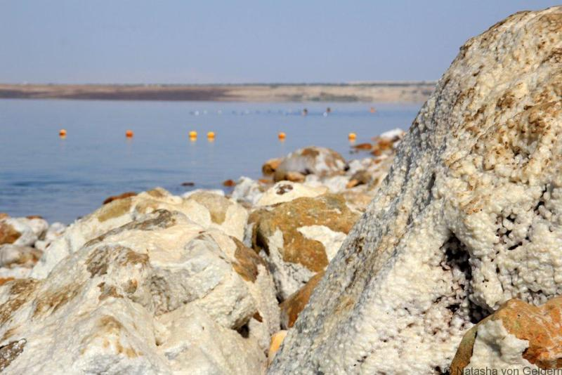 Dead Sea salt Jordan