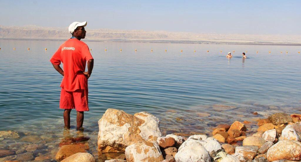 Movenpick Dead Sea Spa and Resort Jordan Dead Sea lifeguard