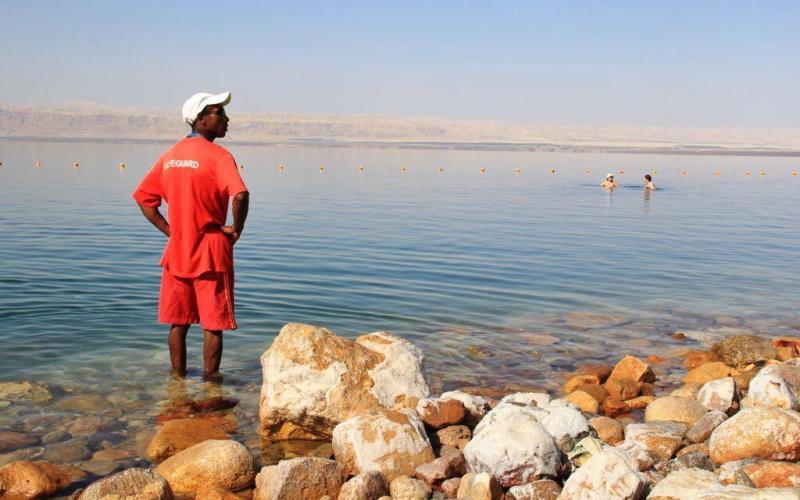 Movenpick Dead Sea Spa and Resort Jordan Dead Sea lifeguard