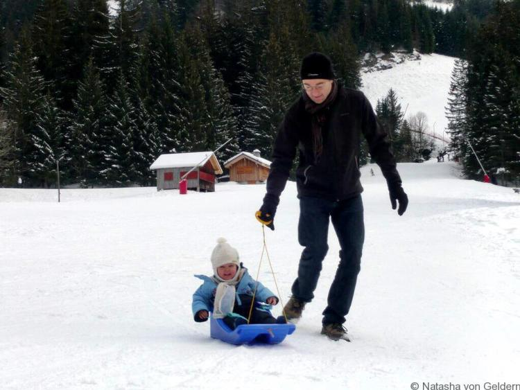Ski holidays with young children