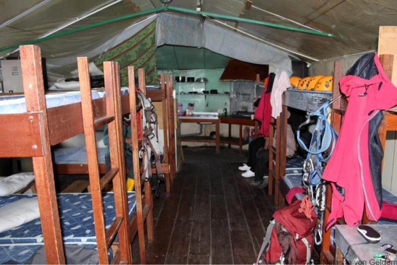 Mountain hut Mt Kinabalu Malaysia