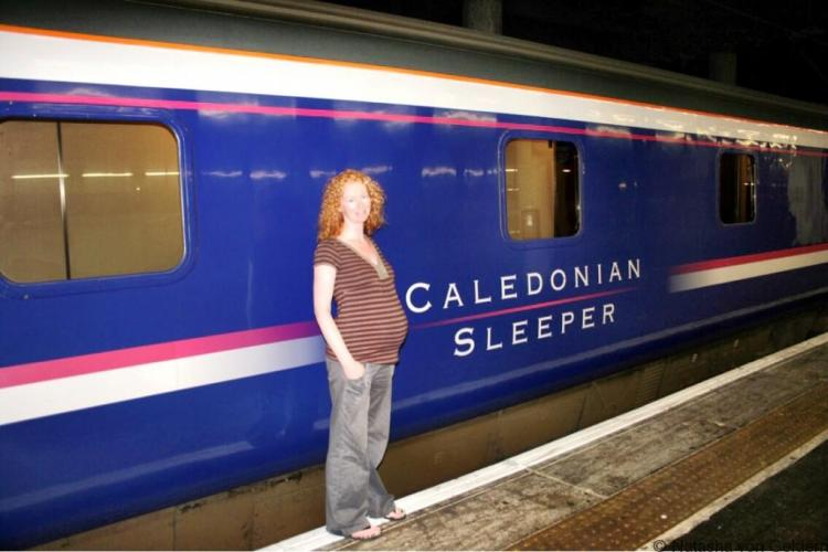 Wandering Kiwi sleeper train to Scotland