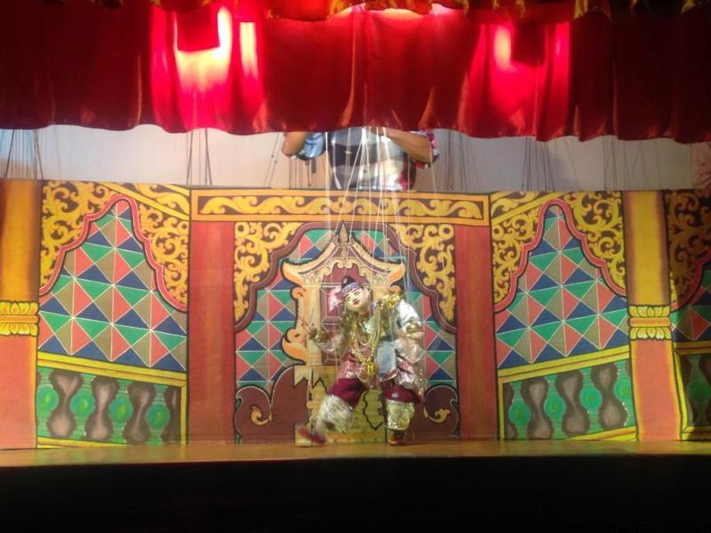 Aung's Puppet Theatre Nyaung Shwe Inle Lake Myanmar