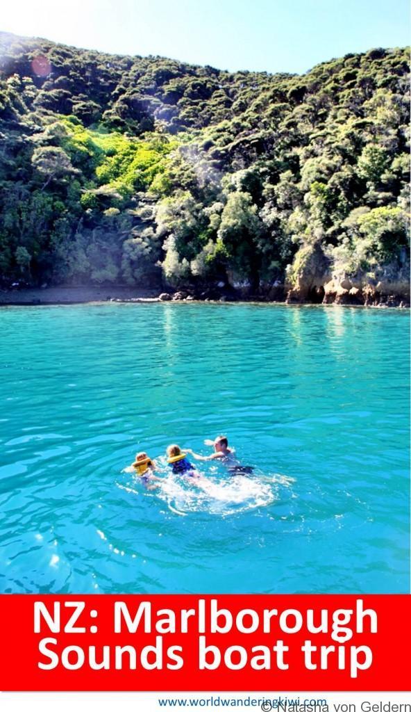Marlborough Sounds boat trip in New Zealand