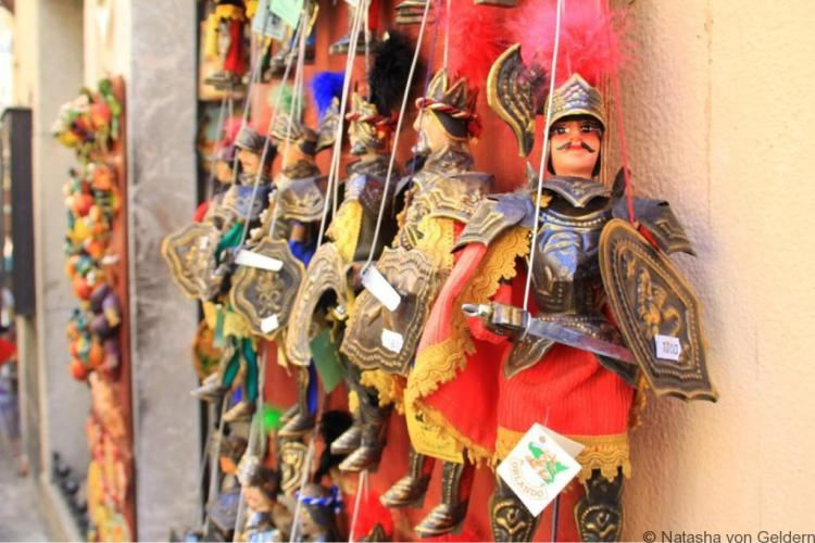 Sicily Traditional Puppets Italy
