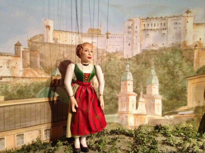 Sound of Music Marionette Museum Hohensalzburg Salzburg