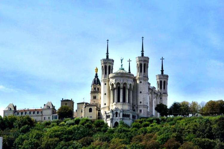 Basilica of Notre-Dame de Fourvière Lyon France