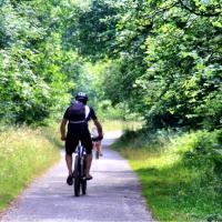 Cycling the Monsal Trail in Derbyshire, England