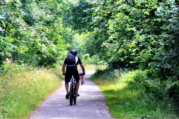 Monsal Trail cycle ride in Derbyshire