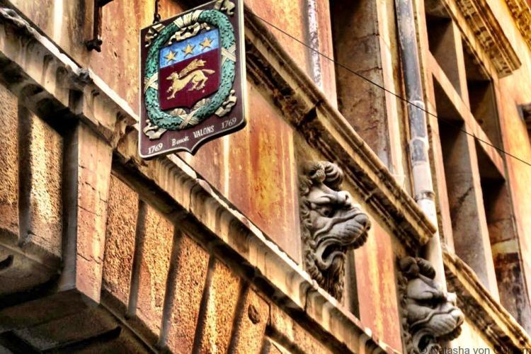 Walking tour of Lyon France