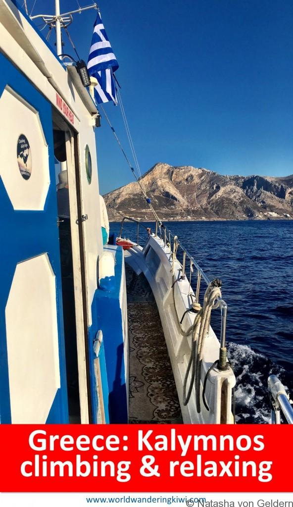 Kalymnos climbing and relaxing holiday Greek Islands