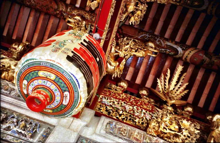 Temple decorations in Penang Malaysia