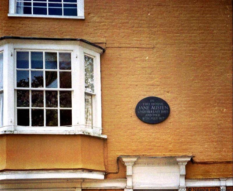 Jane Austen House Winchester England