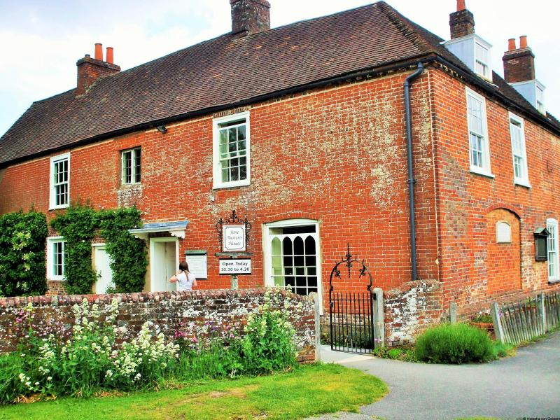 Jane Austen House in Chawton Hampshire England