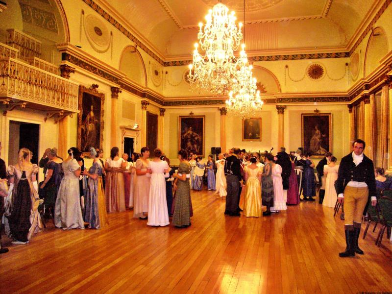 Regency Period costume ball - Jane Austen festival
