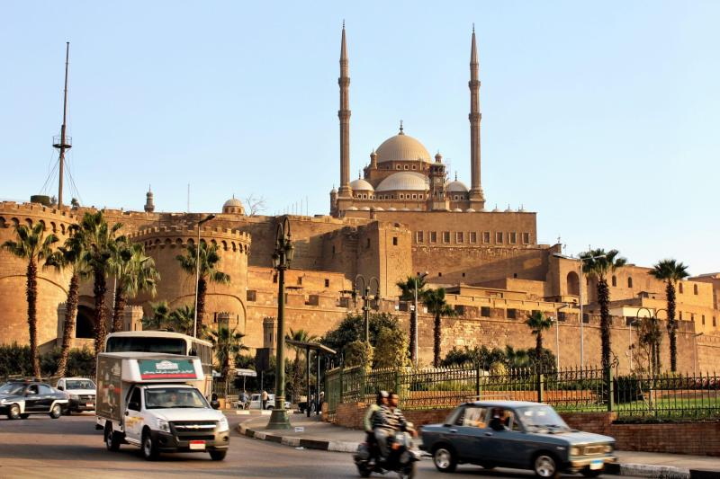 The Citadel in Islamic Cairo