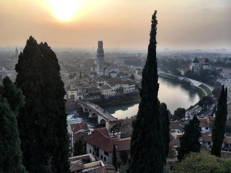 Verona from St Peter's Hill