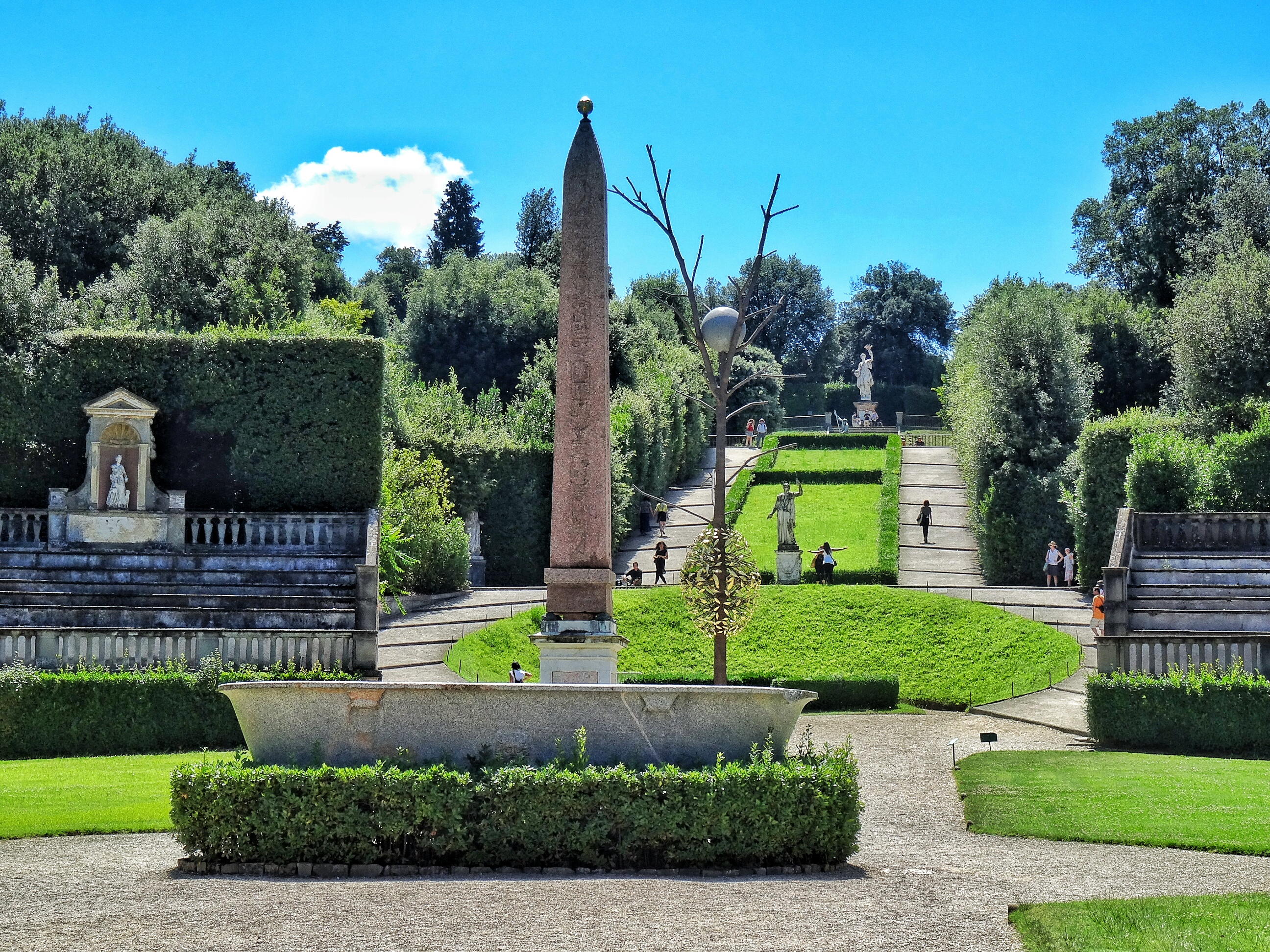 Boboli Garden Escape The Crowds At Firenze World Wanderista