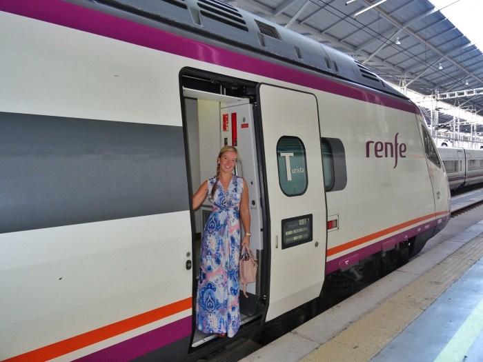 Renfe train Malaga