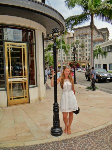Rodeo Drive Beverly Hills Los Angeles